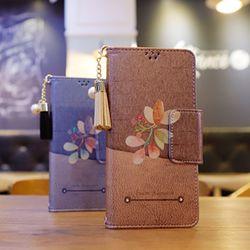 LG Q6 (LG X600) Perla-QFresco-T 수제 지갑 다이어리 케이스