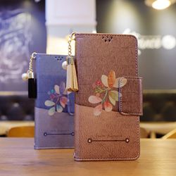 LG G6 (LG G600) Perla-QFresco-T 수제 지갑 다이어리 케이스