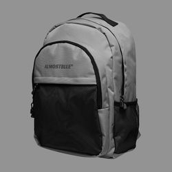 BLACK LABEL BACKPACK - GRAY (얼모스트블루 백팩)