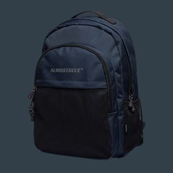 BLACK LABEL BACKPACK - NAVY (얼모스트블루 백팩)