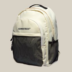 BLACK LABEL BACKPACK - IVORY (얼모스트블루 백팩)