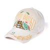 EMPIRE VELVET BASEBALL CAP BEIGE