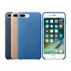 [Apple] 애플 아이폰7플러스 레더 케이스 씨블루