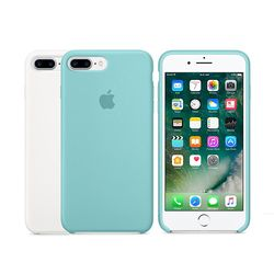[Apple] 애플 아이폰7플러스 실리콘 케이스 화이트