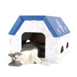 고양이 DIY 스크래쳐 하우스 냥냥하우스