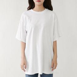 [로코식스] 크론노 무지 티셔츠