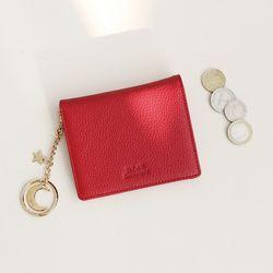 D.LAB Vivienne Half Wallet - Red
