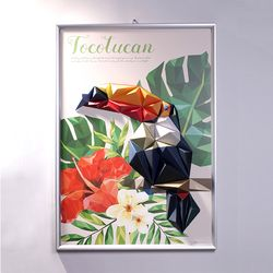 토코투칸 입체팝업 포스터