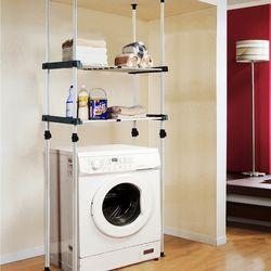 프라임 2단조절선반(세탁기김치냉장고 선반)