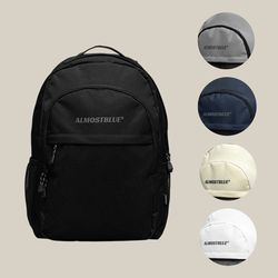 BLACK LABEL BACKPACK - 5COLORS (얼모스트블루 백팩)