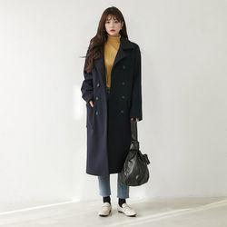 [로코식스] 지오렌 누빔 코트