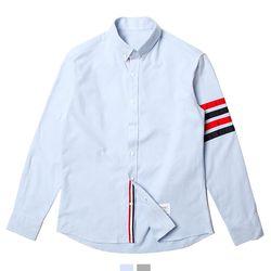 컬러 테이프 남자셔츠