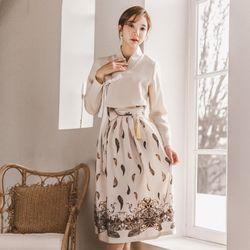 생활한복세트 목화꽃+벚나은sets