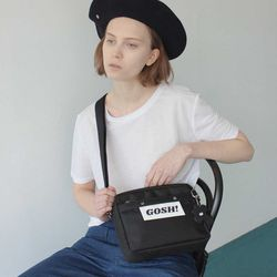 Blank Square Cross Bag (BK)