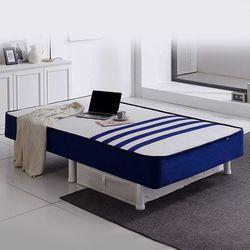 TM1812-쿠아트로 일체형 침대 싱글S 97-본넬스프링  매트리스