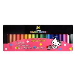 헬로키티 50색 원목색연필