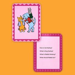 인성교육 영어학습 카드 아이헐드유얼필링