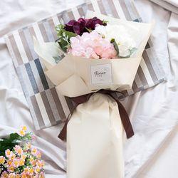 [무료배송] 부케수국꽃다발62cm P5