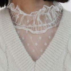 Dot layard blouse