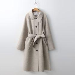 Wool Raglan Long Coat