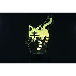 3D LED 무드등 귀여운 고양이 (CBT940107)