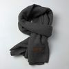 Monica basic scarf (Charcoal)
