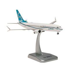 200스케일 B737 MAX 8 (HG910970WH) 보잉 하우스 비행기