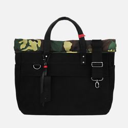 Roll Up 3 Way Bag - Super Oxford Camouflage ( 카모플라쥬 )