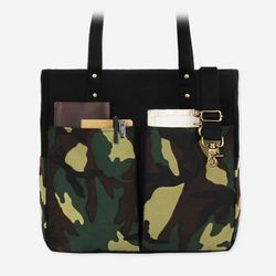 6 Pocket 3 Way Bag - Super Oxford Camouflage ( 카모 )