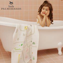 토토리 동물원 양면 아기목욕타올 1장 블랭킷 속싸개