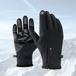 겨울철 스마트 방한장갑(블랙) 스키장갑