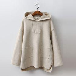 Wool Hood Top