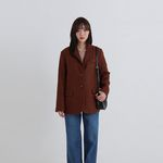 cozy standard single jacket (2colors)