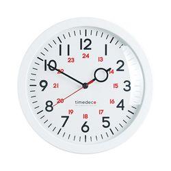 라운드벽시계 화이트A2