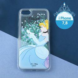 디즈니X클루 신데렐라 반짝이 폰케이스 아이폰7 8 CLAB19103ALS