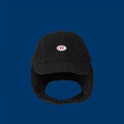 CXX trapper hat - BLACK