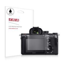 스코코 소니 A7R M3 카메라 올레포빅 액정보호필름 2매