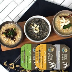 가벼운 식사대용 오트밀죽 3종