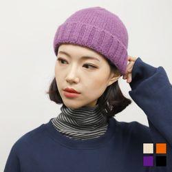 5131 솜솜 숏 비니 (4colors)
