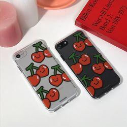 Cherry Cherry - jelly case (아이폰/갤럭시/LG 케이스)
