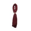 Santa wool scarf (Wine)