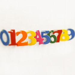 민화샵 컬러비즈 나무공예 숫자알파벳 (deco w 016)