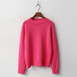 Angora Wool Round Knit