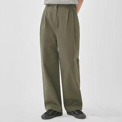 margaret pintuck wide cotton pants (s m)