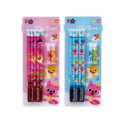 핑크퐁 5본연필+연필캡세트