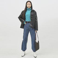 liz leather jacket - UNISEX