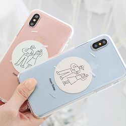 [Try]커플낙서 젤리 케이스.아이폰5S(SE)