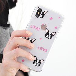 [Try]아임낫퍼그 젤리 케이스.아이폰5S(SE)
