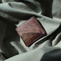 잎섬유 라운드 반지갑