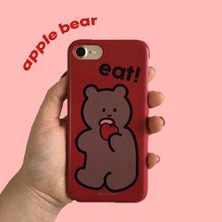 뮤즈무드 apple bear 아이폰케이스